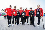 Lima, Peru -  22/August/2019 - Canada is welcomed into the Parapan Am Village during the flag raising ceremony at the Parapan Am Games in Lima, Peru. Photo: Dave Holland/Canadian Paralympic Committee.