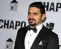 19 April 2017 - Los Angeles, California - Alejandro Aguilar. Univision's 'El Chapo' Original Series Premiere Event held at The Landmark Theatre. Photo Credit: AdMedia