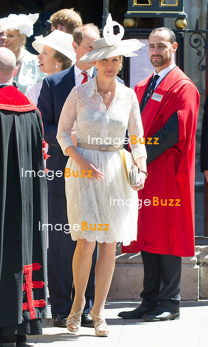 SOPHIE, COUNTESS OF WESSEX<br /> joined other members of the Royal Family for  A Service to Celebrate the Queen's 60th Anniversary of the Coronation Service at Westminster Abbey, London_04/06/2013<br /> Members of the Royal Family attending the Service included The Prince of Wales and The Duchess of Cornwall, The Duke and Duchess of Cambridge, Prince Henry of Wales, The Duke of York and Princesses Beatrice and Eugenie, The Earl and Countess of Wessex and The Lady Louise Mountbatten-Windsor, The Princess Royal, Vice Admiral Sir Tim Laurence, Peter Phillips and Autumn (Kelly) Phillips, Zara (Phillips) Tindall and Mike Tindall, The Duke and Duchess of Gloucester, The Duke and Duchess of Kent, Prince and Princess Michael of Kent
