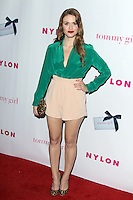Holland Roden at the NYLON Magazine Annual May Young Hollywood Issue Party at Hollywood Roosevelt Hotel on May 9, 2012 in Hollywood, California. © mpi29/MediaPunch Inc.