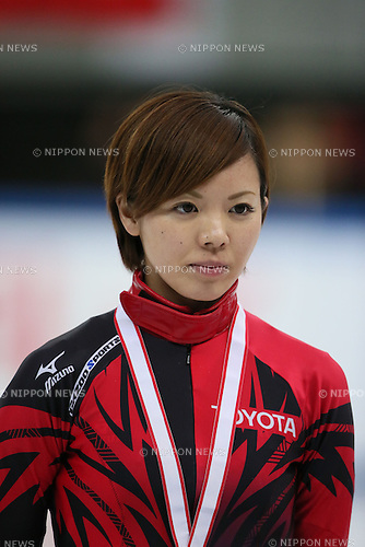 Ayuko Ito,<br /> DECEMBER 15, 2013 - Short Track :<br /> Short track Japan National Team Selection for Sochi Oympic Games, Women's 1000m final at Osaka Pool Ice Skating Rink, Osaka Japan. (Photo AFLO SPORT)