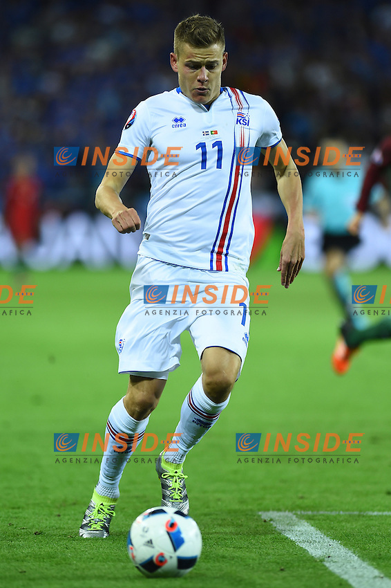 Alfred Finnbogason Iceland <br /> Saint-Etienne 14-06-2016 Stadium Geoffroy-Guichard Football Euro2016 Portugal-Iceland / Portogallo-Islanda Group Stage Group F<br /> Foto Massimo Insabato / Insidefoto