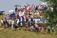 Justin Thomas (USA) on the 3rd tee during Round 4 of the HNA Open De France at Le Golf National in Saint-Quentin-En-Yvelines, Paris, France on Sunday 1st July 2018.<br /> Picture:  Thos Caffrey | Golffile
