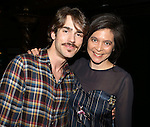 Erik Altemus & Director Diana Paulus  attending the Broadway Opening Night Gypsy Robe Ceremony honoring Stephanie Pope for 'Pippin' at the Music Box Theatre in New York City on 4/25/2013