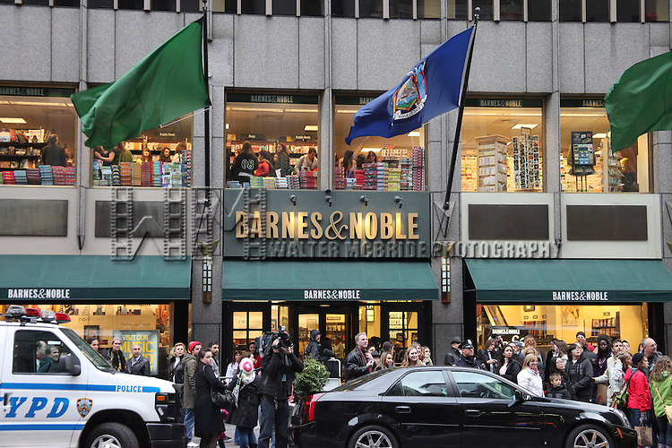 Justin Bieber promotes his new book 'First Step 2 Forever' at Barnes & Noble, 5th Avenue in New York City.