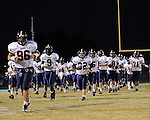 St. Martin's Episcopal Saints vs the South Plaquemines Hurricanes in a game played in Port Sulphur, La.  The Hurricanes defeated the Saints 52-11.