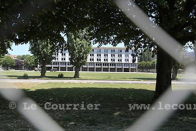Genève, le 17.06.2009.Caserne des vernets.© Le Courrier / J.-P. Di Silvestro