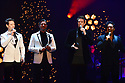 MIAMI BEACH, FL - DECEMBER 04: Urs Buehler, Sebastien Izambard, David Miller and Carlos Marin of Il Divo perform during 'A Holiday Song Celebration' at Fillmore Miami Beach at the Jackie Gleason Theater  on December 4, 2019 in Miami Beach, Florida.   ( Photo by Johnny Louis / jlnphotography.com )