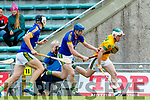 Daniel Collins Kilmoyley in action against Ger Stackpoole Lixnaw in the Kerry County Senior Hurling championship Final between Kilmoyley and Lixnaw at Austin Stack Park on Sunday.