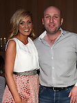 Alan Kearns celebrating his 40th birthday in the Westcourt hotel with Christina Lynch. Photo:Colin Bell/pressphotos.ie