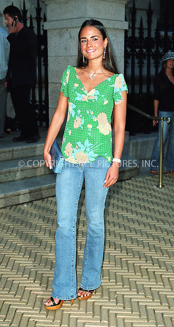 "Jordana Brewster attending the party ""Cocktails in the Garden"" at Cooper-Hewitt National Design Museum on Upper East Side in New York. July 24, 2002. Please byline: Alecsey Boldeskul/NY Photo Press.   ..*PAY-PER-USE*      ....NY Photo Press:  ..phone (646) 267-6913;   ..e-mail: info@nyphotopress.com"