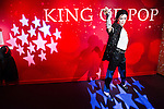 Oct. 4, 2011 - Tokyo, Japan - The wax figure of Michael Jackson is displayed at the Madame Tussauds museum exhibit. The world's 13th Madame Tussauds museum showcases 19 wax figures of  celebrity musicians and movie stars. (Photo by Christopher Jue/AFLO)