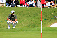 Thorbjorn Olesen (DEN) on the 8th green during the final round at the WGC HSBC Champions 2018, Sheshan Golf CLub, Shanghai, China. 28/10/2018.<br /> Picture Fran Caffrey / Golffile.ie<br /> <br /> All photo usage must carry mandatory copyright credit (&copy; Golffile | Fran Caffrey)