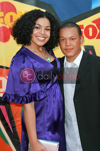 Jordin Sparks and friend<br />