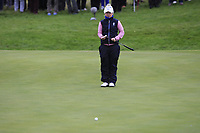 Bronte Law of Team Europe on the 2nd fairway during Day 2 Foursomes at the Solheim Cup 2019, Gleneagles Golf CLub, Auchterarder, Perthshire, Scotland. 14/09/2019.<br /> Picture Thos Caffrey / Golffile.ie<br /> <br /> All photo usage must carry mandatory copyright credit (© Golffile | Thos Caffrey)