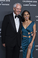 "Misty Copeland, Marco Tronchetti Provera (Pirelli's President) attend the gala night for official presentation of the Presentation of the Pirelli Calendar 2019 ""The cal"" held at the Hangar Bicocca. Milan (Italy) on december 5, 2018. Credit: Action Press/MediaPunch ***FOR USA ONLY***"