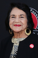 "HOLLYWOOD, LOS ANGELES, CA, USA - MARCH 20: Dolores Huerta at the Los Angeles Premiere Of Pantelion Films And Participant Media's ""Cesar Chavez"" held at TCL Chinese Theatre on March 20, 2014 in Hollywood, Los Angeles, California, United States. (Photo by David Acosta/Celebrity Monitor)"