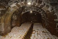 Europe/France/Auvergne/63/Puy-de-Dôme/Clermont-Ferrand: Cave d'affinage de Saint-Nectaire de Mr Morlac fromager