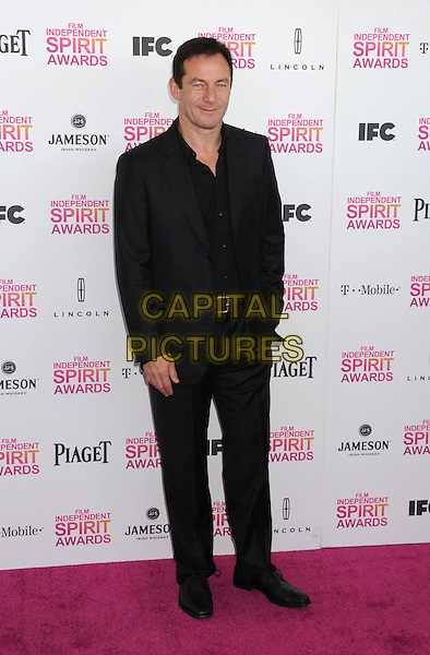 Jason Isaacs.2013 Film Independent Spirit Awards - Arrivals Held At Santa Monica Beach, Santa Monica, California, USA,.23rd February 2013..indy indie indies indys full length black suit shirt .CAP/ROT/TM.©Tony Michaels/Roth Stock/Capital Pictures