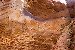 Capitol Reef National Park, Utah, UT, Fremont Culture petroglyphs, handprints, rock formation, landform, arid, Southwest America, American Southwest, US, United States, Image ut399-18067, Photo copyright: Lee Foster, www.fostertravel.com, lee@fostertravel.com, 510-549-2202