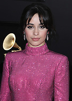 LOS ANGELES - FEBRUARY 10:  Camila Cabello at the 61st Grammy Awards at Staples Center on February 10, 2019 in Los Angeles, California. (Photo by Xavier Collin/PictureGroup)