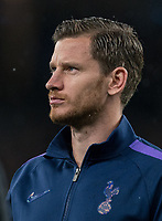 Jan Vertonghen of Spurs before the UEFA Champions League group match between Tottenham Hotspur and Bayern Munich at Wembley Stadium, London, England on 1 October 2019. Photo by Andy Rowland.