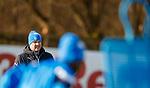 8.3.2018: Rangers training:<br /> Graeme Murty