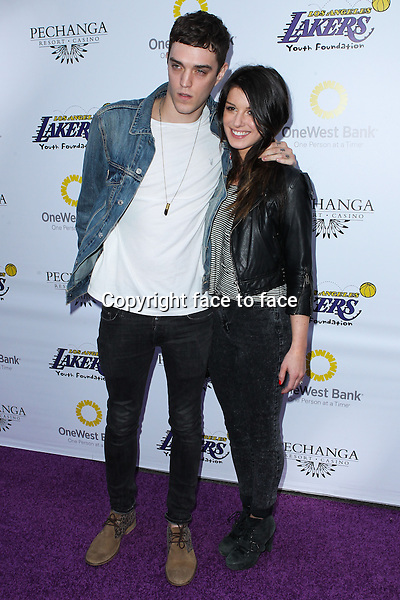 Josh Beech, Shenae Grimes  at Lakers Casino Night Fundraiser Benefiting The Lakers Youth Foundation held at Club Nokia on March 10, 2013 in Los Angeles, California...Credit: MediaPunch/face to face..- Germany, Austria, Switzerland, Eastern Europe, Australia, UK, USA, Taiwan, Singapore, China, Malaysia and Thailand rights only -