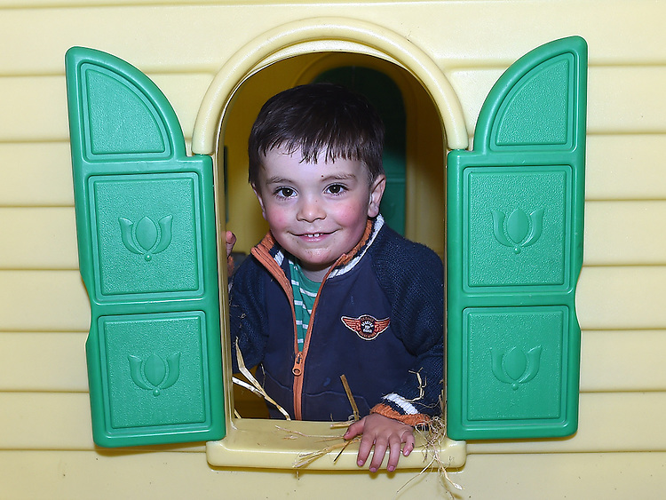 Jake Ronan pictured at Newgrange Farm over the Easter bank holiday weekend. Photo:Colin Bell/pressphotos.ie
