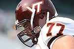 09 September 2006: Virginia Tech's Brandon Gore. The University of North Carolina Tarheels lost 35-10 to the Virginia Tech Hokies at Kenan Stadium in Chapel Hill, North Carolina in an Atlantic Coast Conference NCAA Division I College Football game.