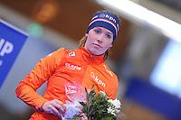 SCHAATSEN: BERLIJN: Sportforum Berlin, 07-12-2014, ISU World Cup, Podium 1500m Ladies Division B, Antoinette de Jong (NED), ©foto Martin de Jong