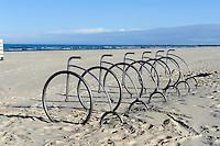 Strand in Liepaja, Lettland, Europa