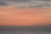 Sunset - abstract, Del mar, California