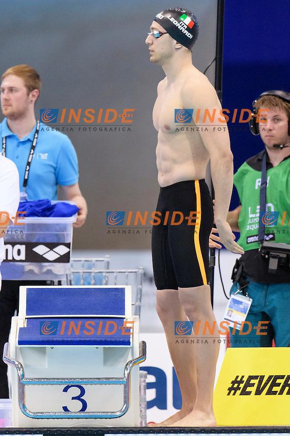 ITALY ITA <br /> DOTTO Luca GUTTUSO Giuseppe BOFFA Jonathan <br /> LEONARDI Luca <br /> 4x00 Freestyle Men <br /> London, Queen Elizabeth II Olympic Park Pool <br /> LEN 2016 European Aquatics Elite Championships <br /> Diving  <br /> Day 08 16-05-2016<br /> Photo Andrea Staccioli/Deepbluemedia/Insidefoto
