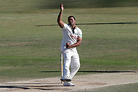 Samit Patel in bowling action for Notts during Essex CCC vs Nottinghamshire CCC, Specsavers County Championship Division 1 Cricket at The Cloudfm County Ground on 22nd June 2018