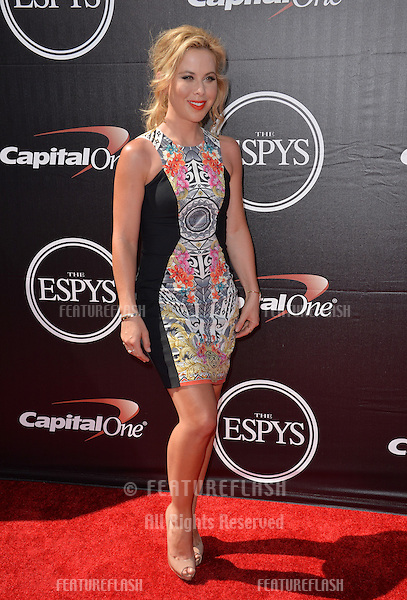Ice skater Tara Lipinski at the 2015 ESPY Awards at the Microsoft Theatre LA Live.<br /> July 15, 2015  Los Angeles, CA<br /> Picture: Paul Smith / Featureflash