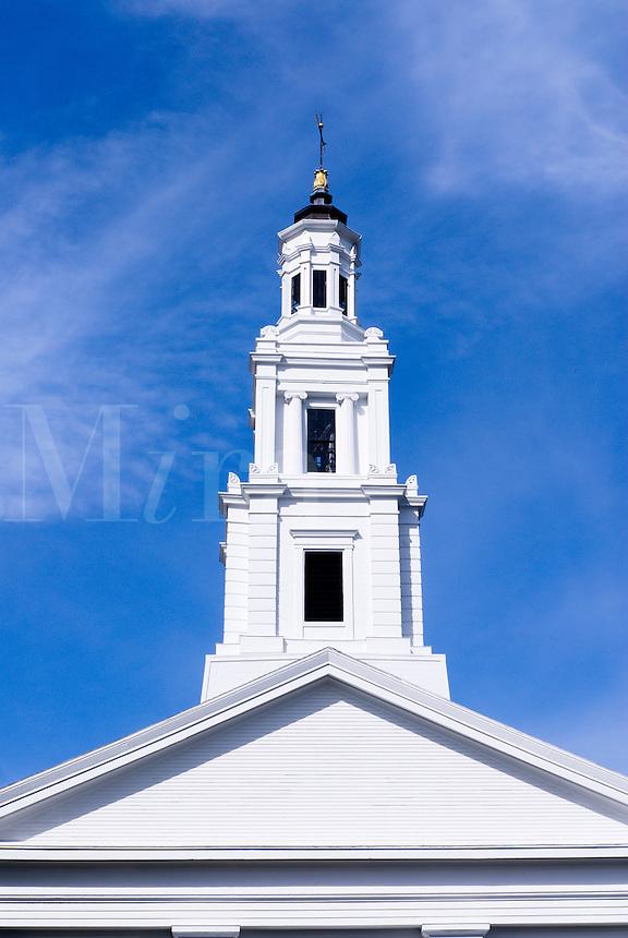 Church spire.