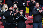 Fans take part in a minutes applause - Sheffield United vs Coventry City - SkyBet League One - Bramall Lane - Sheffield - 13/12/2015 Pic Philip Oldham/SportImage