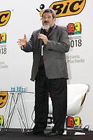 SAO PAULO, SP, 04.08.2018 - BIENAL-LIVRO-SP - Mário Sergio Cortella durante a 25ª Bienal Internacional do Livro de São Paulo no Anhembi na região norte de São Paulo, neste sábado 04.  (Foto: Felipe Ramos / Brazil Photo Press)