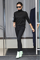 www.acepixs.com<br /> October 13, 2017 New York City<br /> <br /> Victoria Beckham was seen in New York City on October 13, 2017.<br /> <br /> Credit: Kristin Callahan/ACE Pictures<br /> <br /> Tel: 646 769 0430<br /> Email: info@acepixs.com