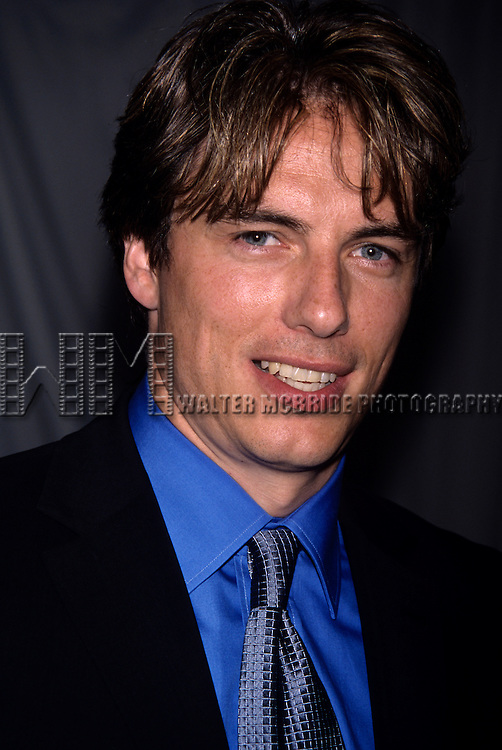 John Barrowman of 'Titans' photographed at NBC Network Upfront at Lincoln Center in New York City. May 15, 2000. © Walter McBride / .