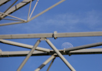 The moon rises over Deepdale Stadium<br /> <br /> Photographer Alex Dodd/CameraSport<br /> <br /> The EFL Sky Bet Championship - Preston North End v Nottingham Forest - Saturday 16th February 2019 - Deepdale Stadium - Preston<br /> <br /> World Copyright © 2019 CameraSport. All rights reserved. 43 Linden Ave. Countesthorpe. Leicester. England. LE8 5PG - Tel: +44 (0) 116 277 4147 - admin@camerasport.com - www.camerasport.com
