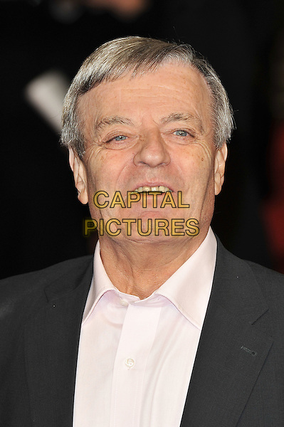 "Tony Blackburn.The ""Michael Jackson : The Life Of An Icon"" UK premiere, Empire cinema, Leicester Square, London, England..2nd November 2011.headshot portrait black suit jacket pink shirt.CAP/MAR.© Martin Harris/Capital Pictures."