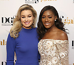 Miss California MacKenzie Freed and Miss America Nia Franklin attend the cocktail party for the Dramatists Guild Foundation 2018 dgf: gala at the Manhattan Center Ballroom on November 12, 2018 in New York City.