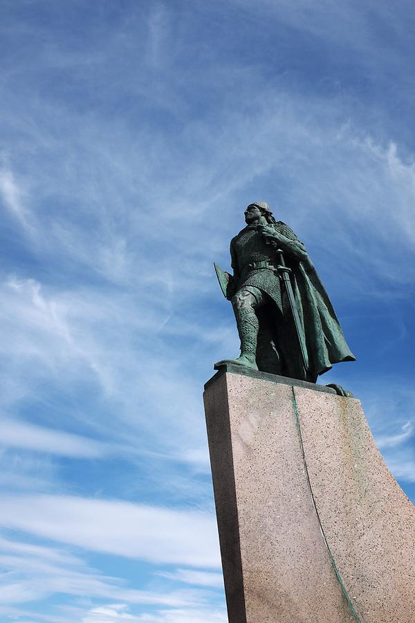 Statue of Leif Erikson, Reykjavik, Iceland