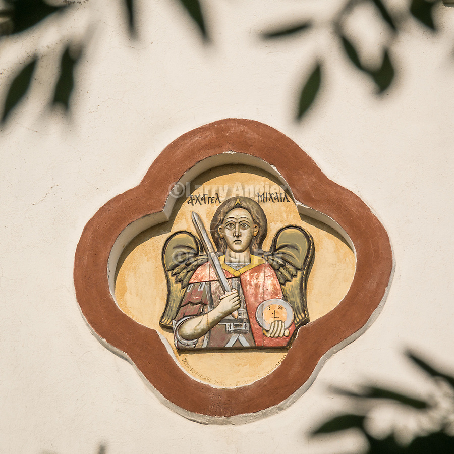 Icon for the Holy temple of Archangel Michael church, Mlekarovo, Bulgaria