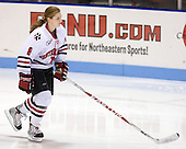 Alyssa Wohlfeiler (NU - 8) - The Northeastern University Huskies defeated the Union College Dutchwomen 4-1 on Saturday, October 3, 2009, at Matthews Arena in Boston, Massachusetts.