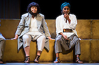 "Maria Galiana and Lolita during theater play ""La Asamblea de las Mujeres"" at Teatro La Latina in Madrid. August 23 2016. (ALTERPHOTOS/Borja B.Hojas) /NORTEPHOTO.COM"