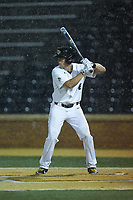 DJ Poteet (4) of the Wake Forest Demon Deacons at bat against the Davidson Wildcats at David F. Couch Ballpark on May 7, 2019 in  Winston-Salem, North Carolina. The Demon Deacons defeated the Wildcats 11-8. (Brian Westerholt/Four Seam Images)