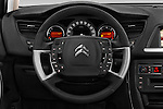 Car pictures of steering wheel view of a 2015 Citroen C5-Tourer-XTR Hydractive-Exclusive 5 Door wagon Steering Wheel